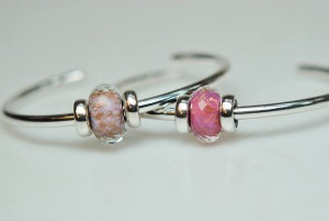 Pink Delight Facet - Bangle