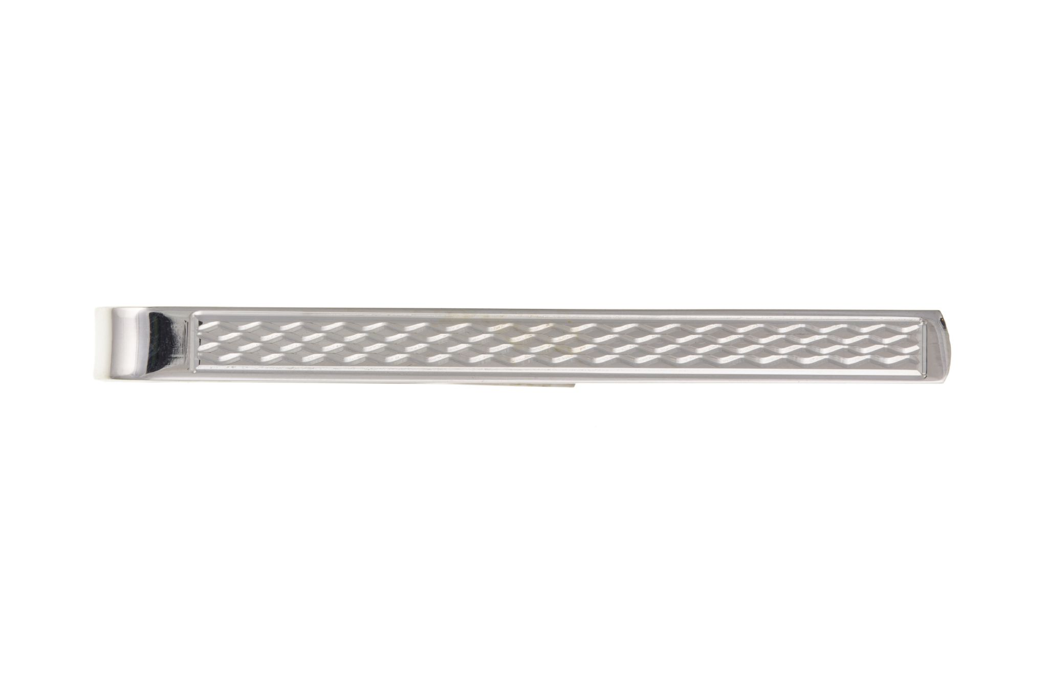 3539a6a573a3 Tie Bar Sterling Silver Tie Clip Machine Engraved