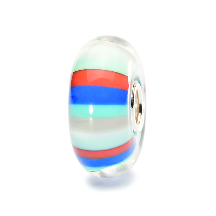 Trollbeads Beach Ball Glass Bead TGLBE-10150